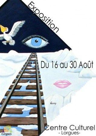 Atelier-Exposition-Vente au Domaine du Moulin de Rioupassat à 10 mn de St Emilion en Gironde