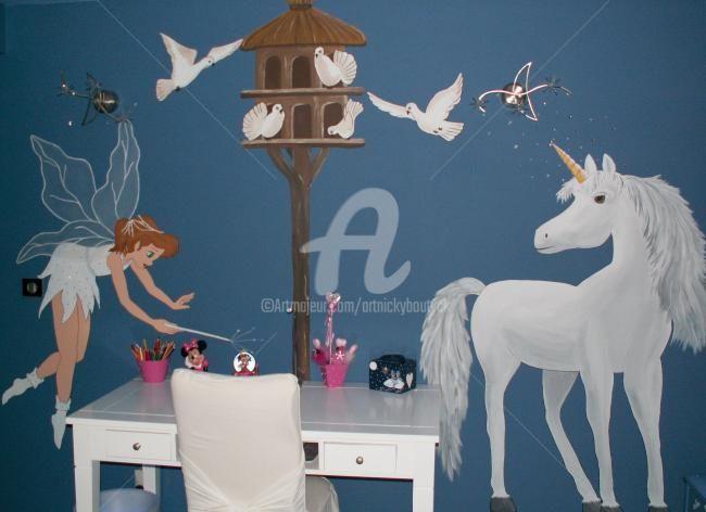 Fresque murale pour chambre d'enfant