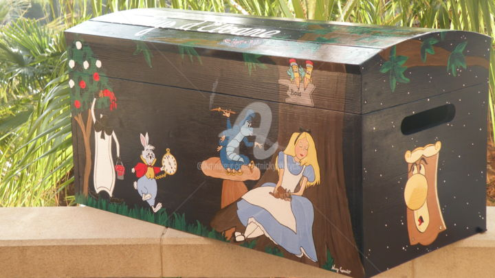 Alice au Pays des Merveilles-Coffre à Jouets